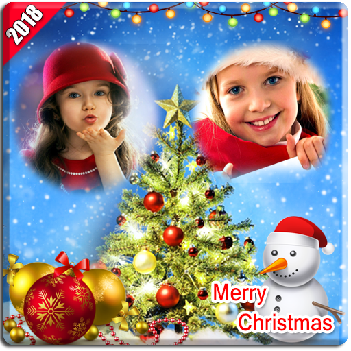 Christmas Photo Frames Dual 2018