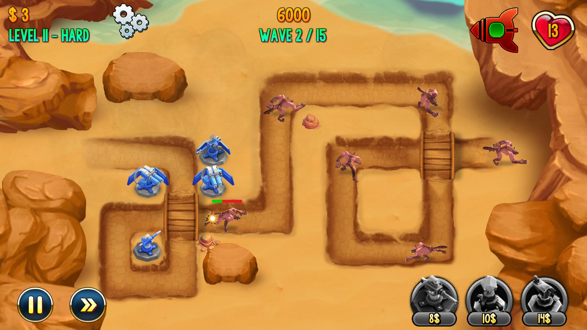 Defense Zone – Epic Battles