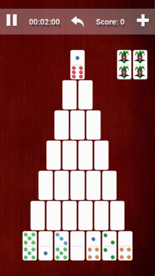 Domino Pyramid