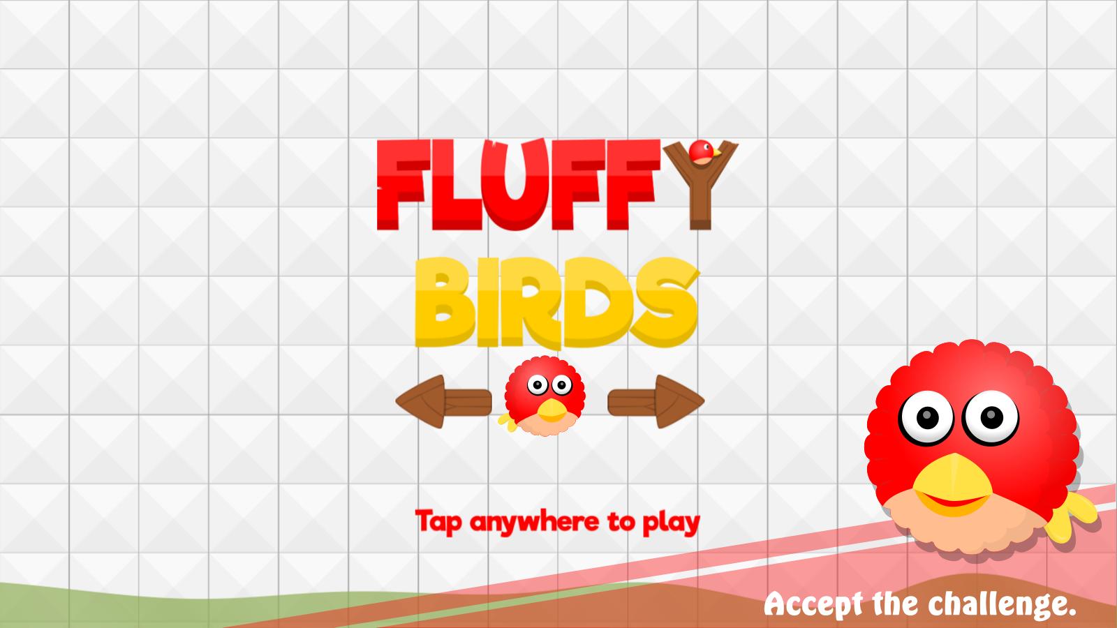 Fluffy Birds : Inflatable Friends