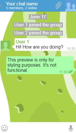 Lime Chat Messenger-Telegram