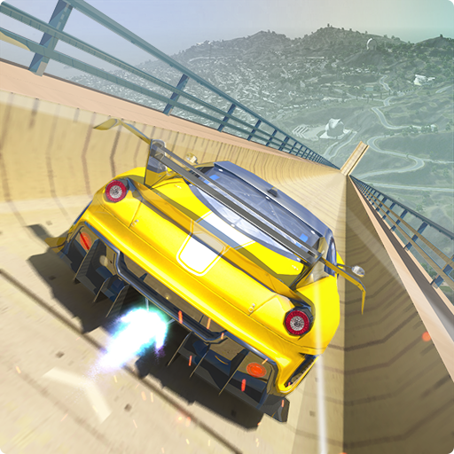 Mega Ramp Car Stunts Free