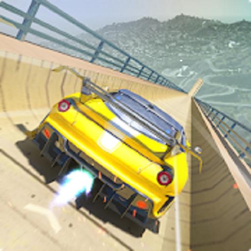 Mega Ramp Car Stunts Free