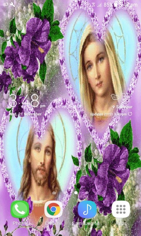 Merry Jesus Live Wallpaper