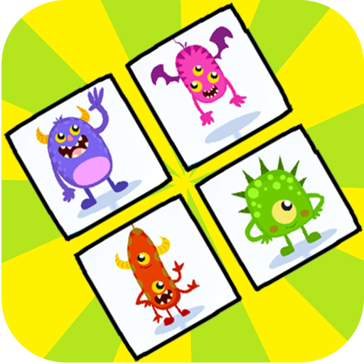 Monster Memory Game - Parejas de Monstruos