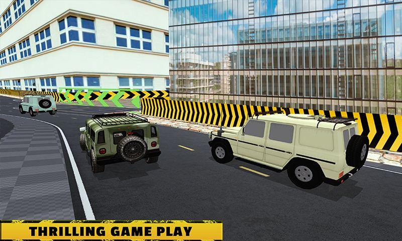 Police Vs Army Street Car Race
