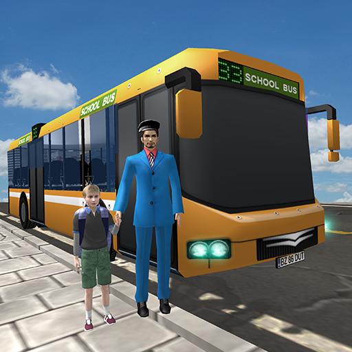 School Bus Driver: Kids Fun