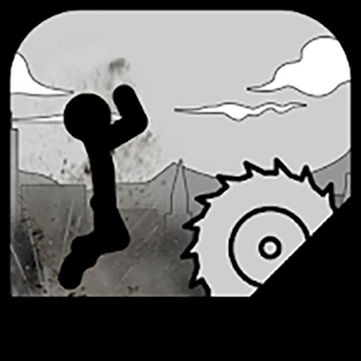 Stickman Run - Turbo Destruction