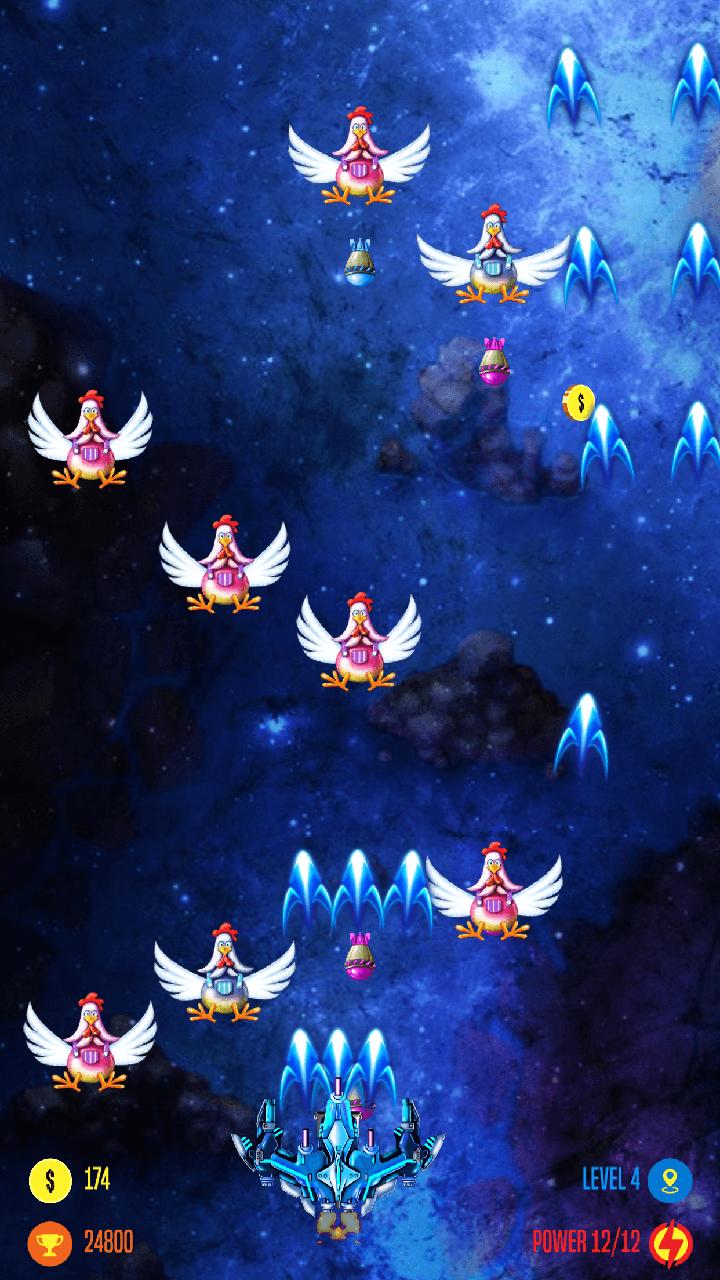 Strike Galaxy Chicken Attack