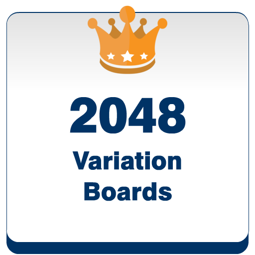 2048 Variation Boards Puzzle