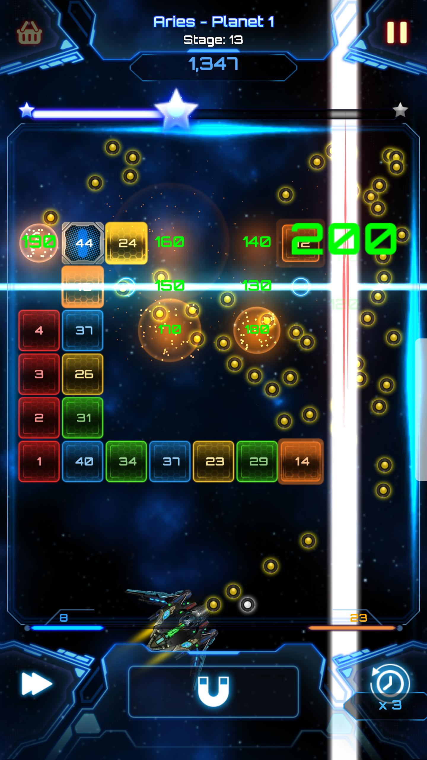 Bricks Breaker : Galaxy Shooter