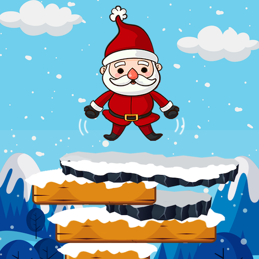 Christmas Santa Claus Jump : The Adventure Game
