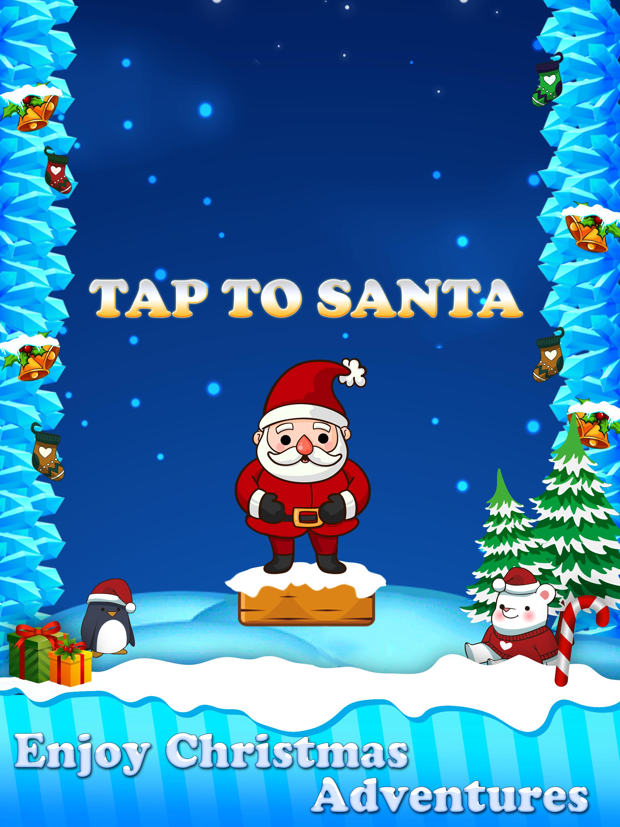Christmas Santa Claus Jump : The Adventure Game