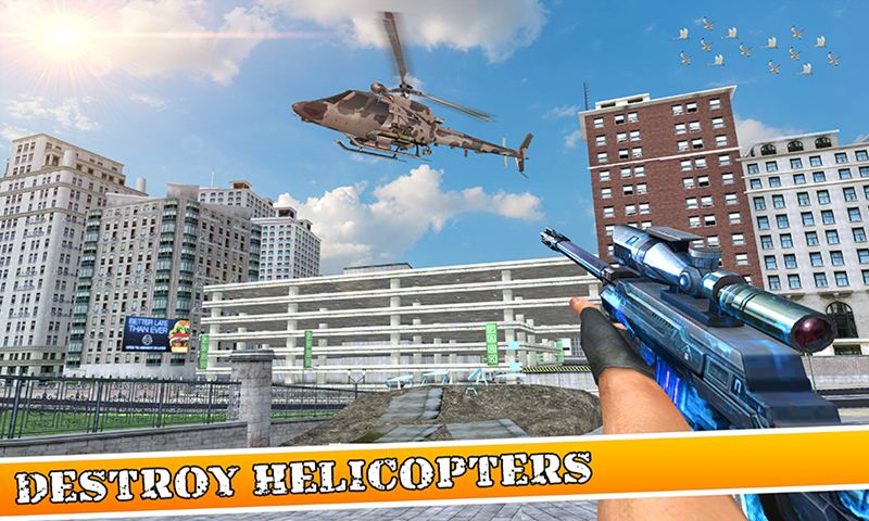 Elite Sniper Shooter : City Shooting