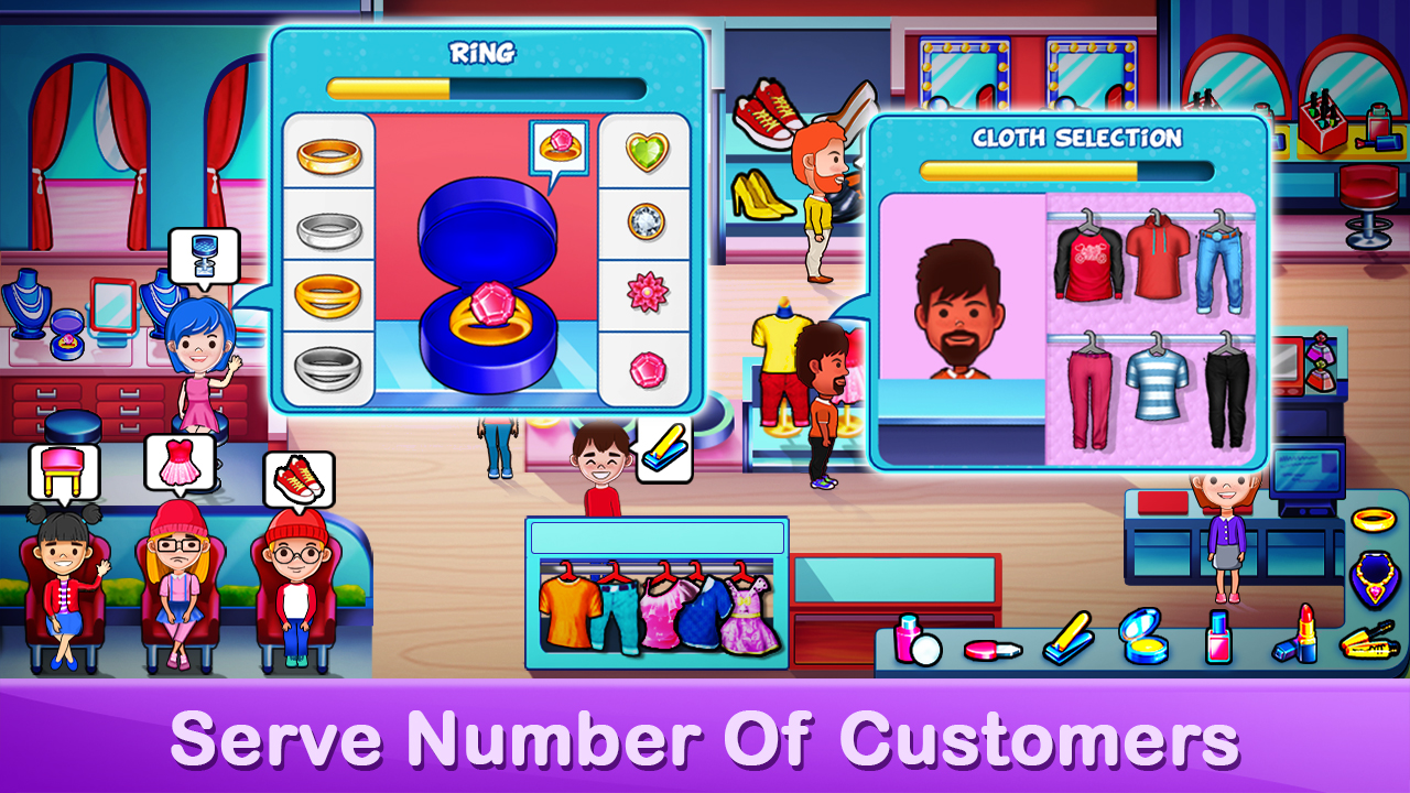 Fashion Model Beauty Salon Game