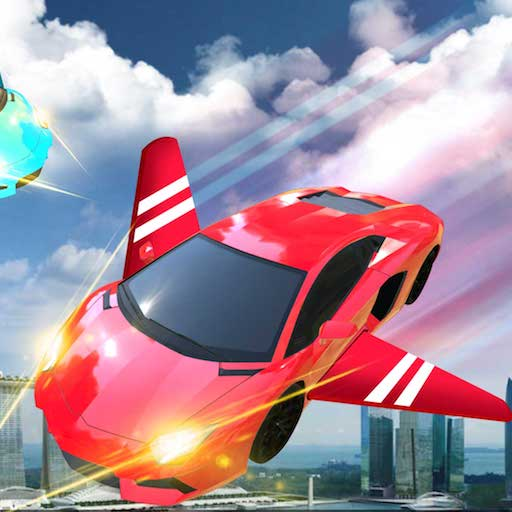 Flying Sports Car Simulator 2018 : Flying Car Free