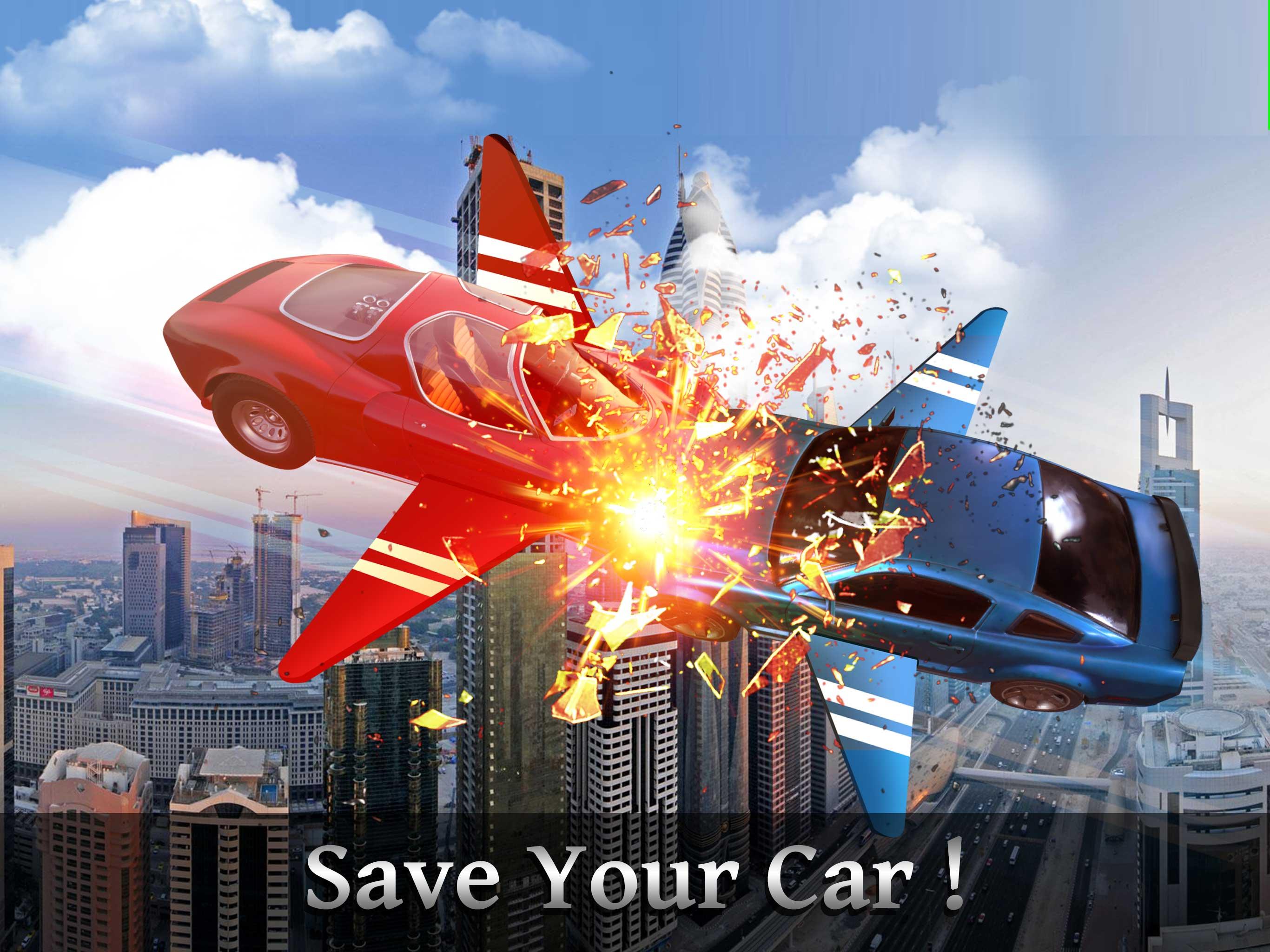 Flying Sports Car Simulator 2018 : Flying Car Free