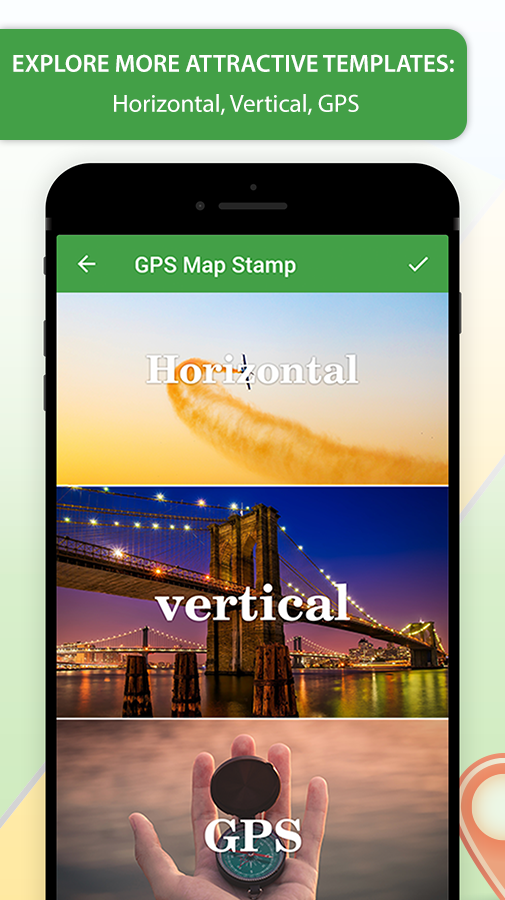 GPS Map Stamp: Add a Geotag on Gallery Photos