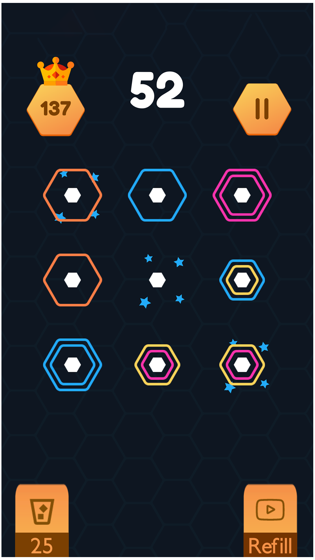 Hexa Color Ring Puzzle - color Matcher (2019)