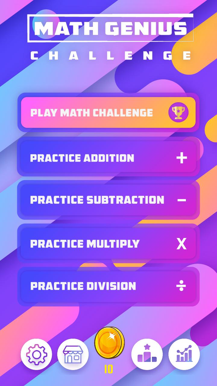 Math Genius Challenge