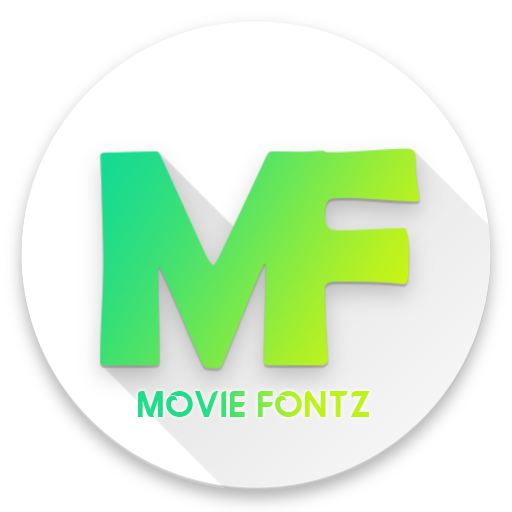 Movie fontz
