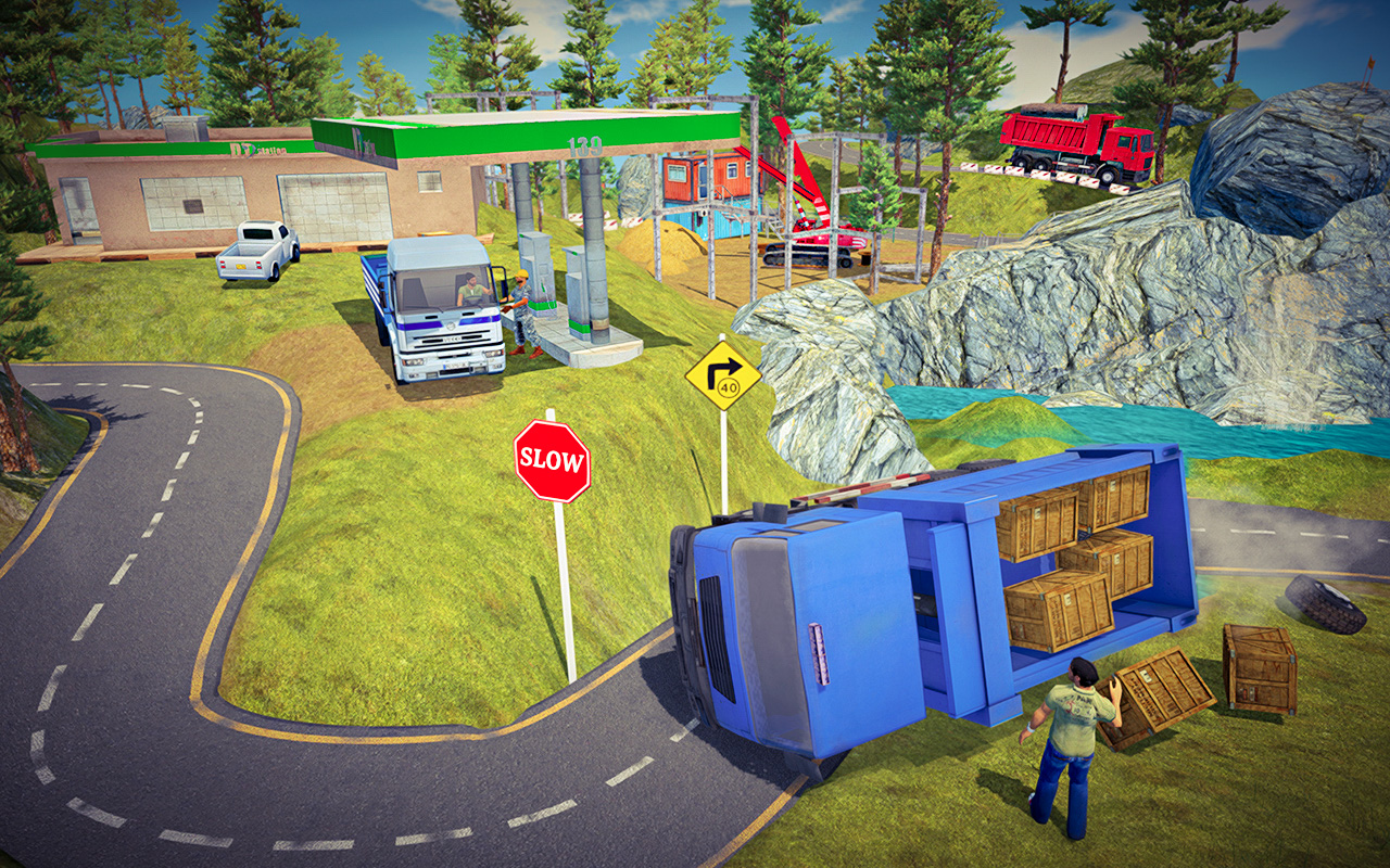 Offroad Cargo Transport Truck Driving Simulator 19 - Truck Games