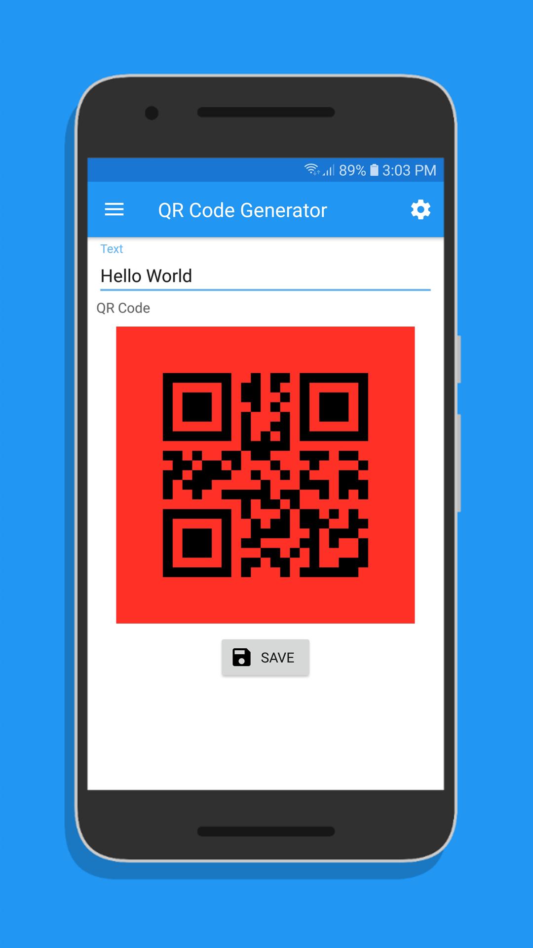 QR Code Generator/Scanner