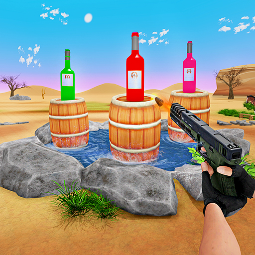 Real Master Bottle Shooter Expert - Bottle Shoot Game