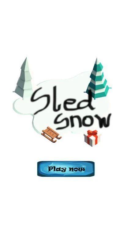 Sled Snow