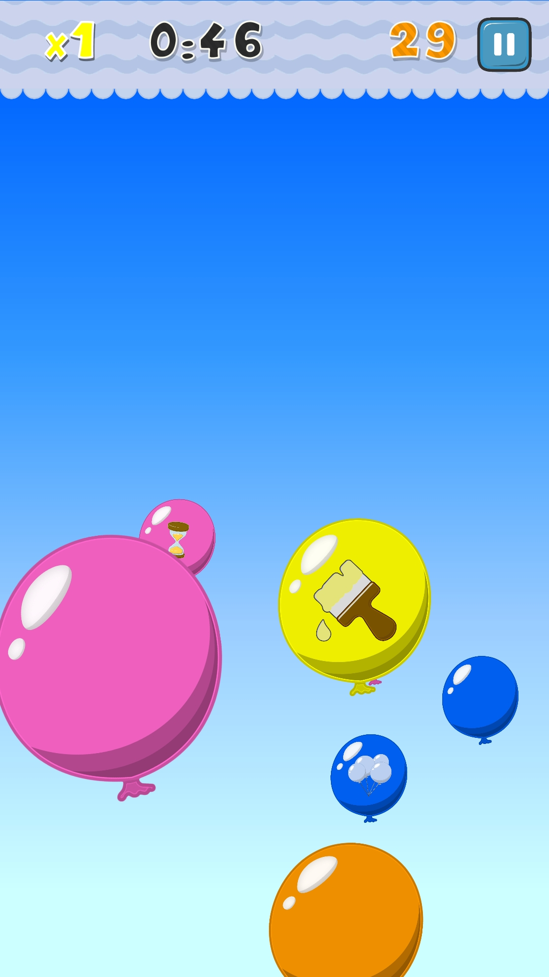 Tap Pop Balloon - Combo Party
