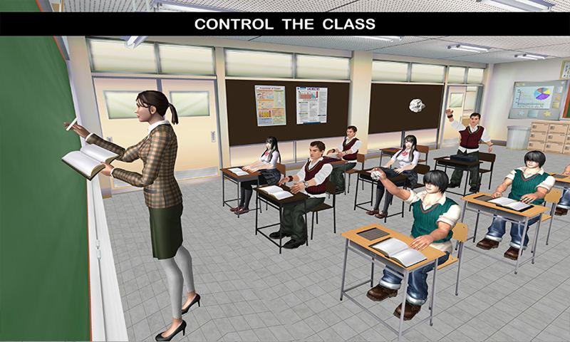 Virtual School Intelligent Teacher