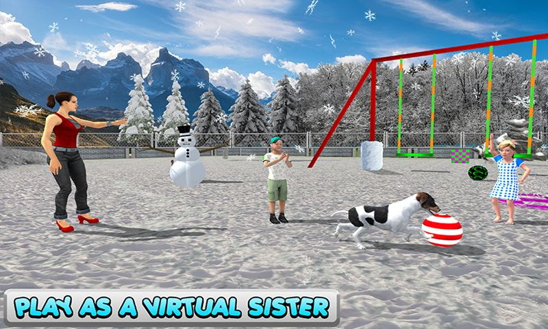 Virtual Sister Happy Home