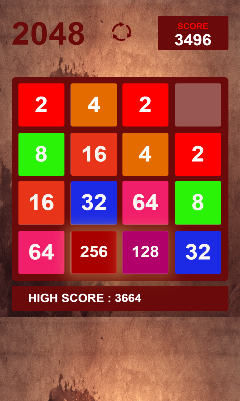 2048 Number Puzzle - funny 2048 logic puzzle game