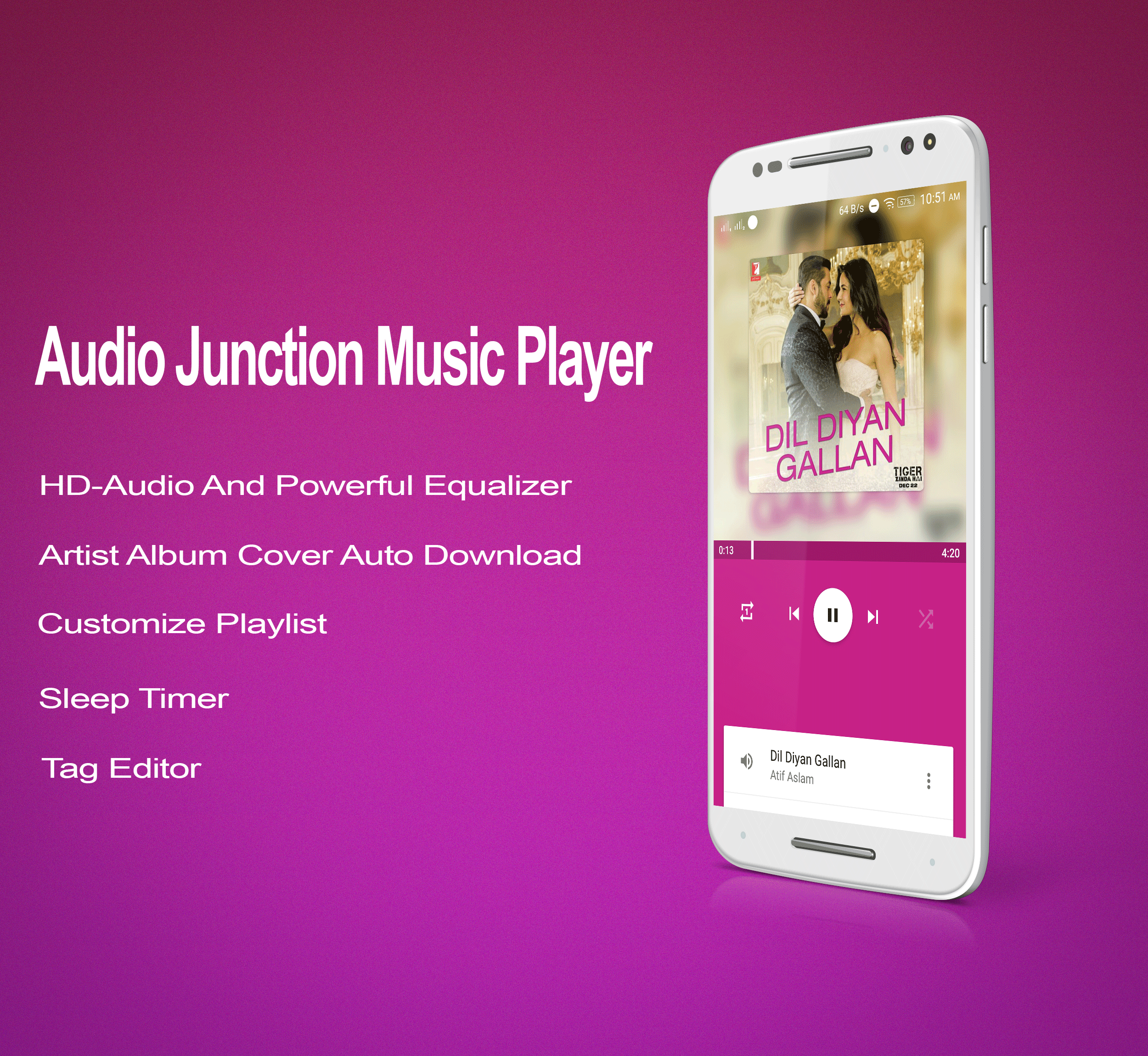 Audio Junction - Music Payer