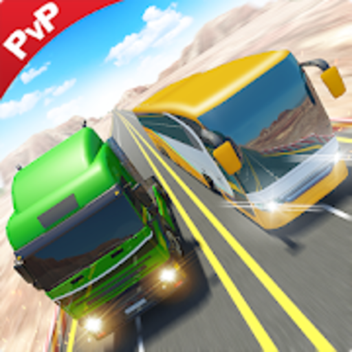 Bus Racing vs Truck Racing Game