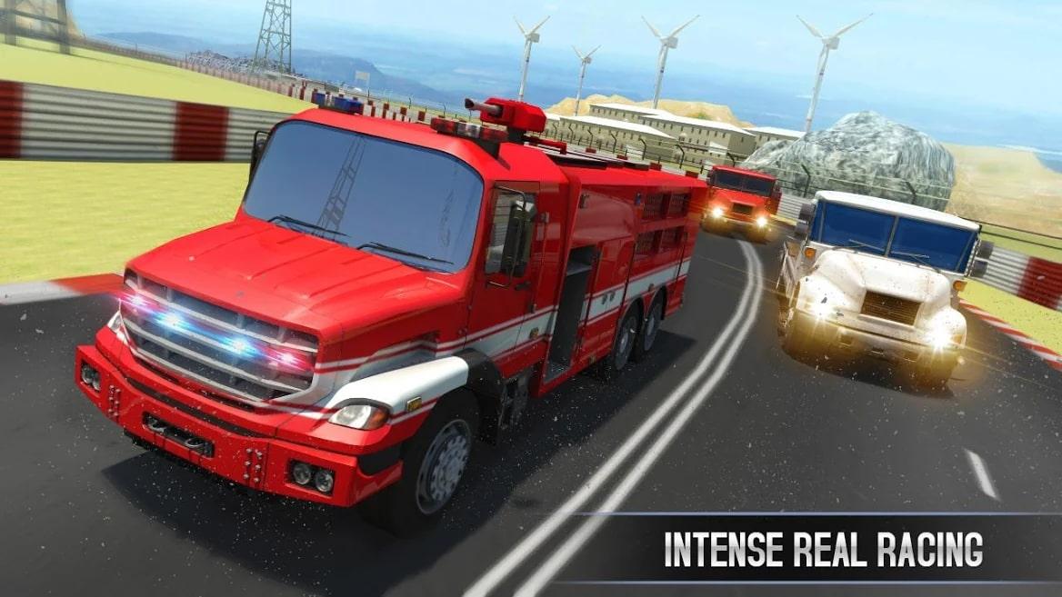 Bus Racing vs Truck Racing Game