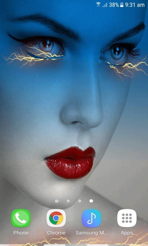 Eyes Light Live Wallpaper