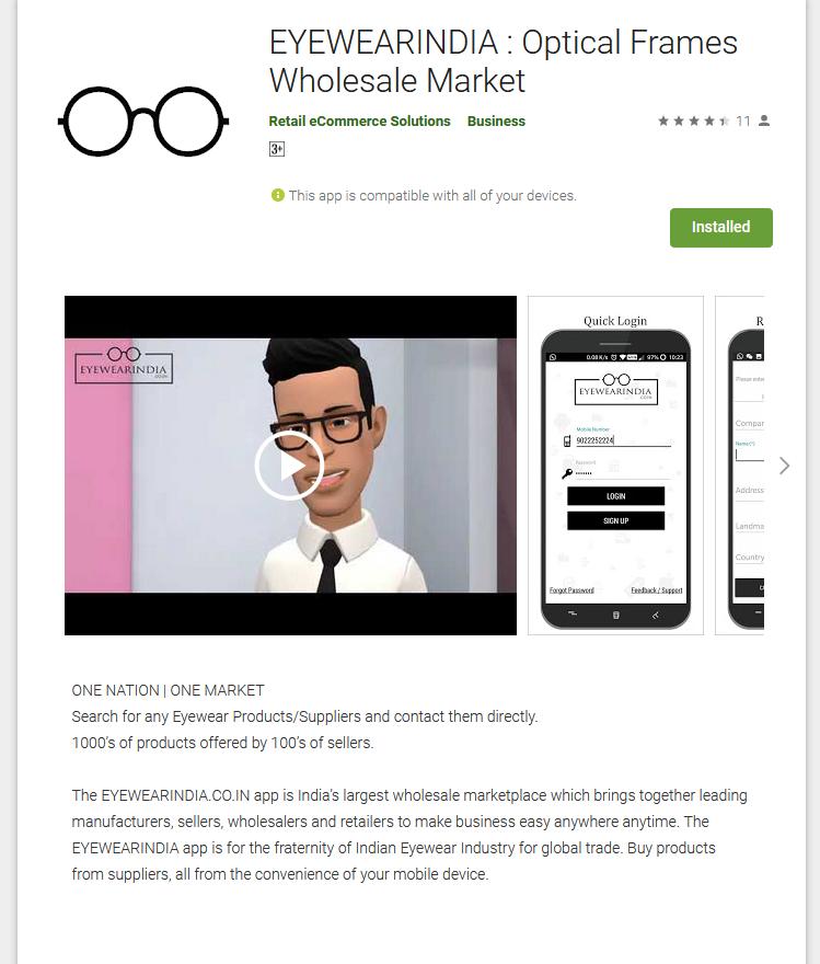 EYEWEARINDIA : Optical Frames Wholesale Market