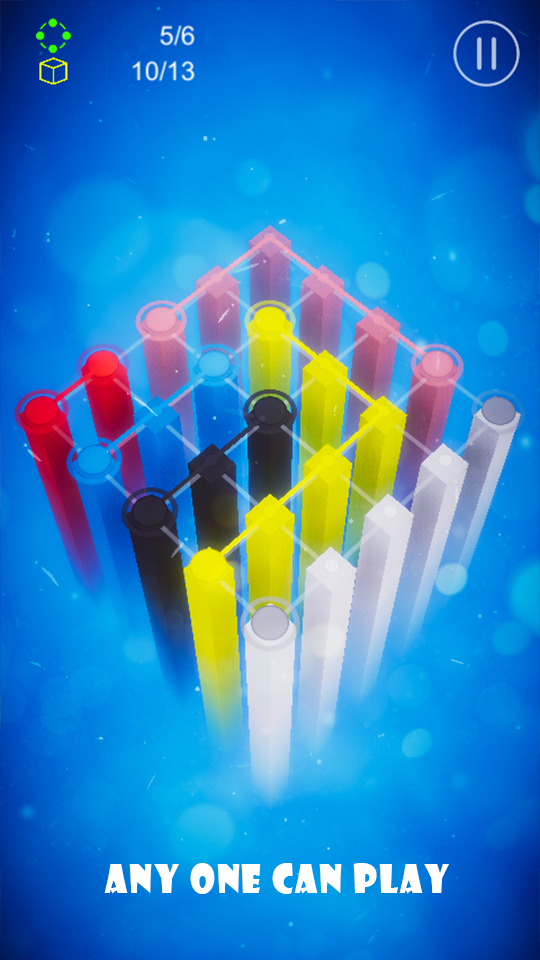 Flashlight - 3D color connect game