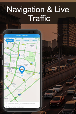 GPS Route Finder Maps Drive Directions Map Traffic
