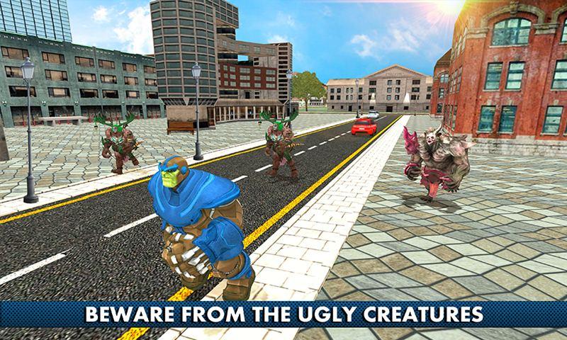 Infinity Dino Hero City Survival