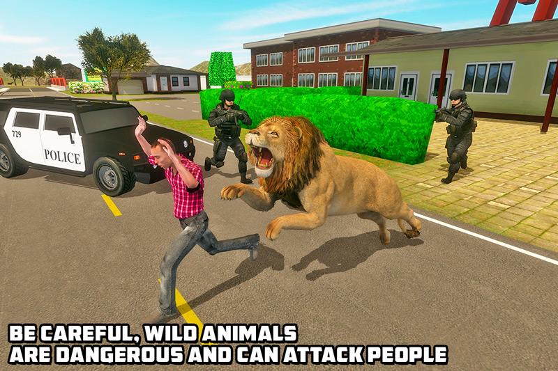 Lion Simulator – City Revenge