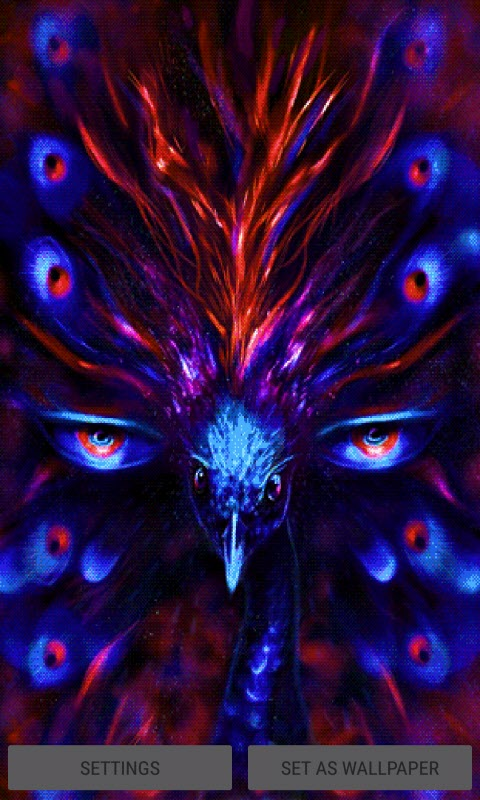 Magical Eyes Live Wallpaper