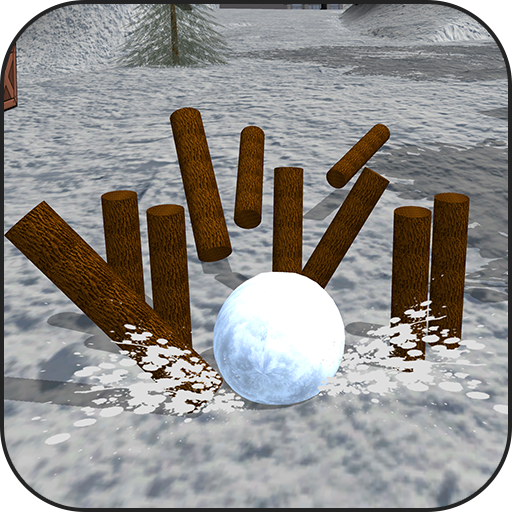 Snow bowling Smash