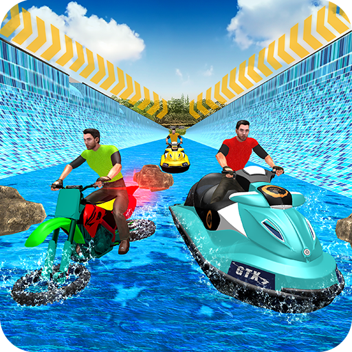 Aqua Bike Stunts: Water Impossible Ramps