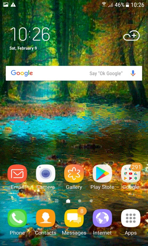 Beautiful Forest Live Wallpaper