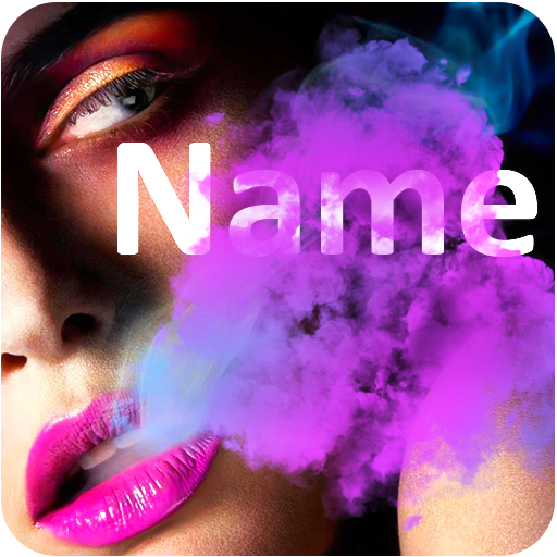 Smoke Effect Name Art: Focus Filter Maker Text Art