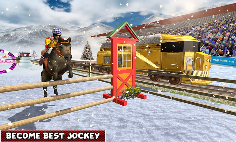 Ultimate Horse Vs Train Race