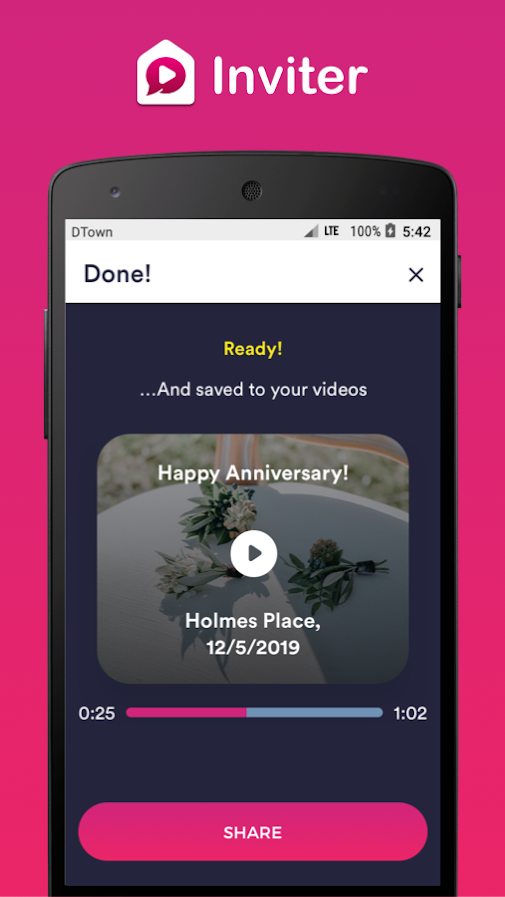 Video Invitation Maker by Inviter.com