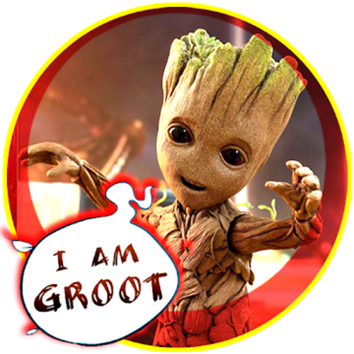 Crazy Groot : Icy Tower Mode